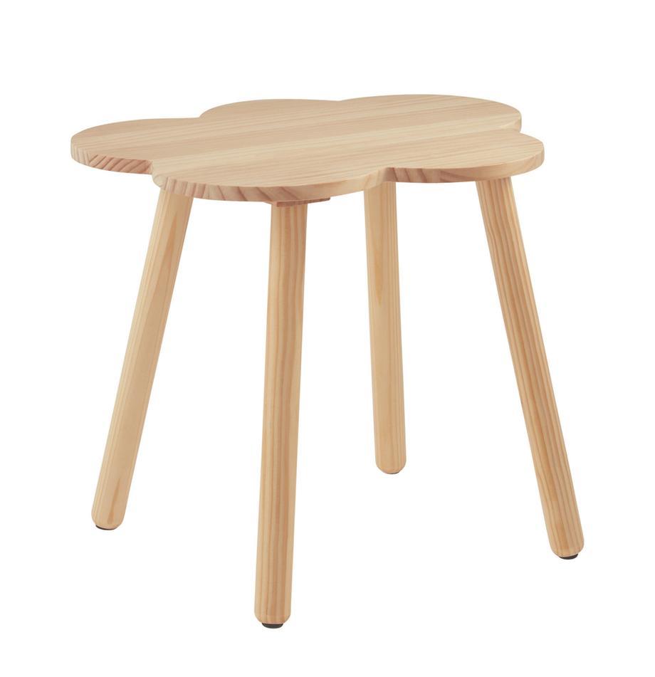 Tavolino per bambini Cloud, Legno di pino, Marrone, Ø 48 x Alt. 42 cm