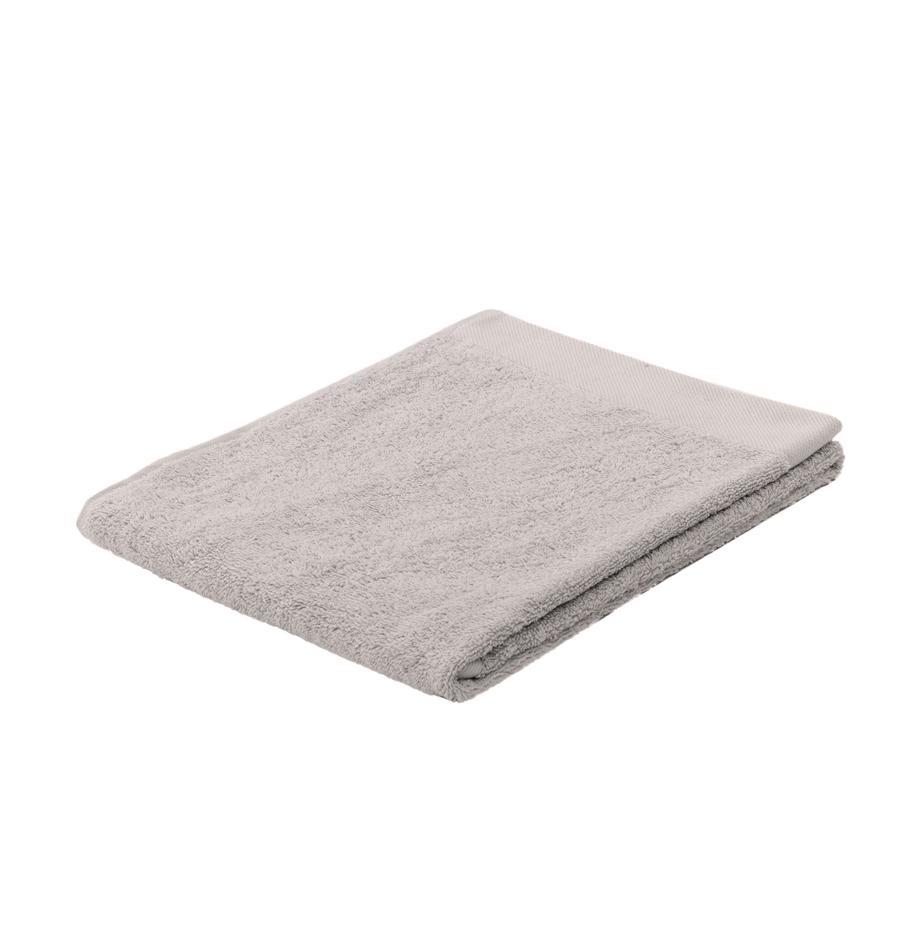 Handdoek Blend in verschillende formaten, van gerecycled katoenmix, Lichtgrijs, Gastendoekje