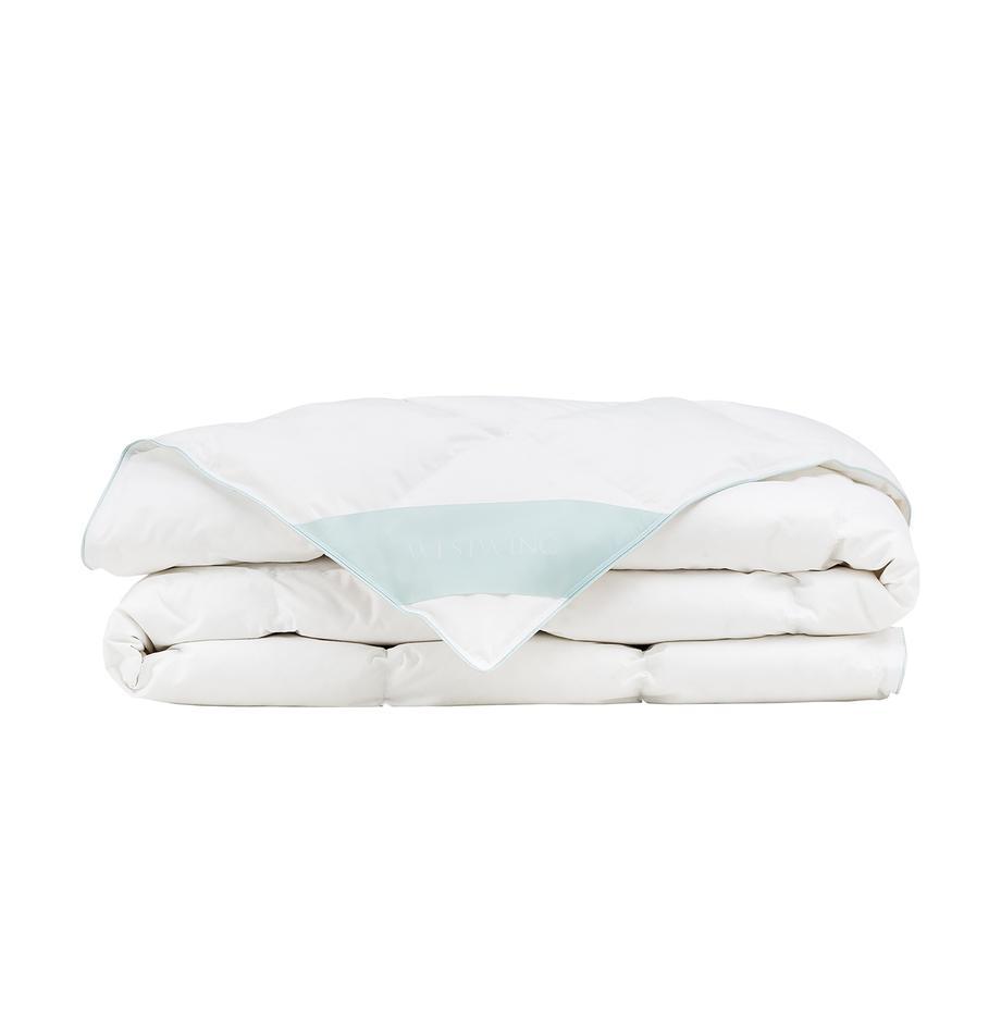 Daunen-Bettdecke Comfort, extra leicht, Hülle: 100% Baumwolle, feine Mak, Weiß, 135 x 200 cm