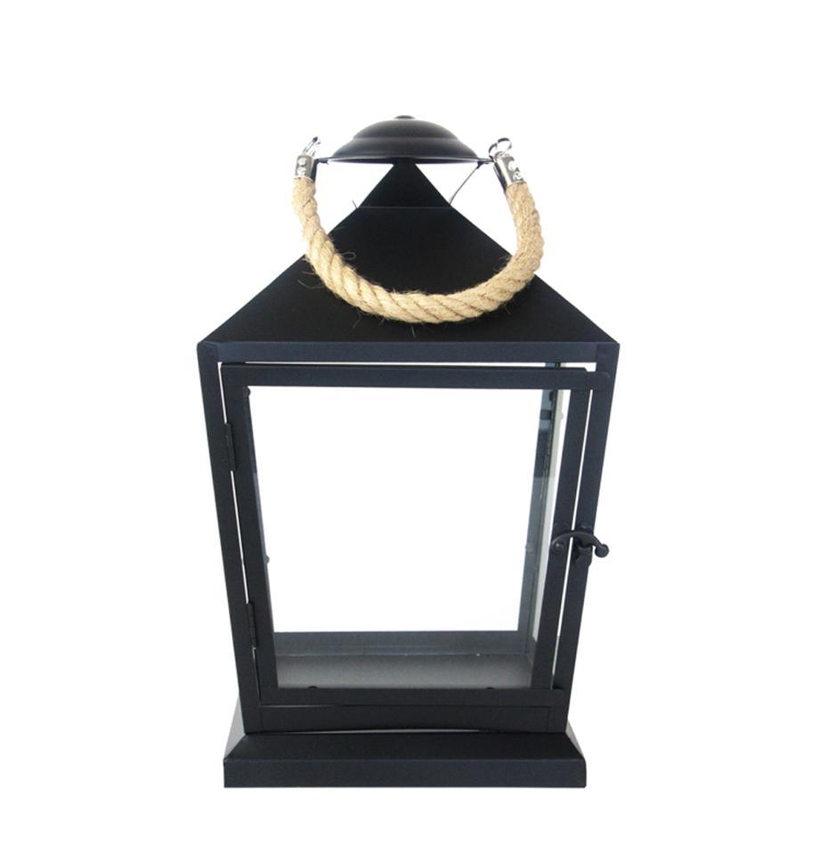 Lanterna Tala, Metallo, Nero, Larg. 22 x Alt. 35 cm