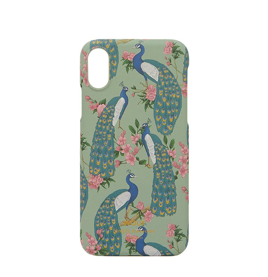 Etui na iPhone X Royal Forest, Silikon, Wielobarwny, S 7 x W 15 cm