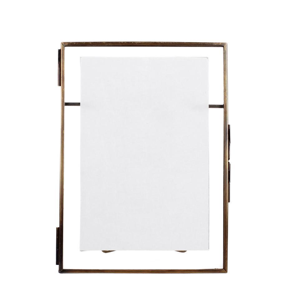 Fotolijst Collector, Lijst: gecoat messing, Bronskleurig, 10 x 15 cm