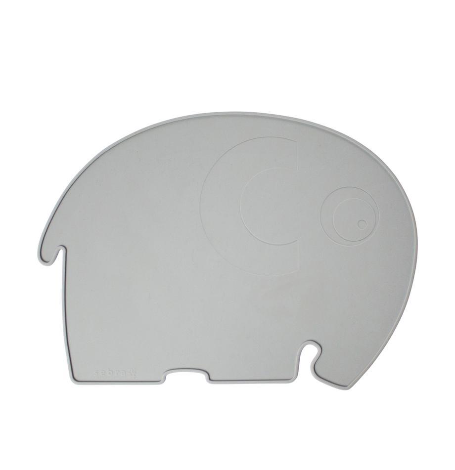 Mantel individual Fanto, Silicona, libre de BPA, Gris, An 43 x Al 33 cm