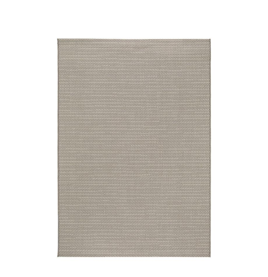 Alfombra de interior/exterior Metro Needle, Polipropileno, Beige, An 200 x L 290 cm (Tamaño L)
