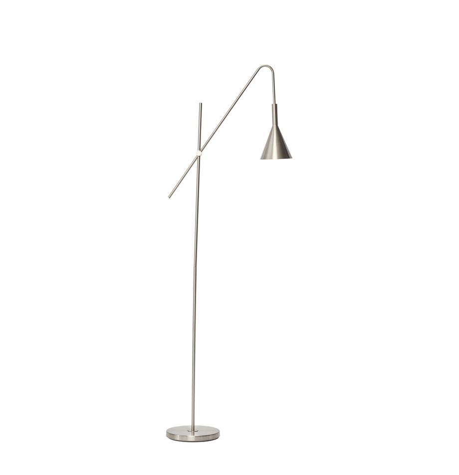 Lampka do czytania z metalu Manifen, Odcienie srebrnego, S 66 x W 167 cm