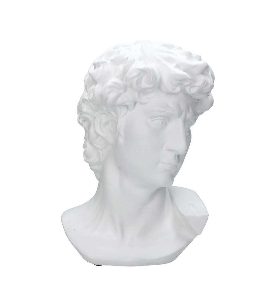 Deko-Objekt David, Polyresin, Weiss, 21 x 29 cm