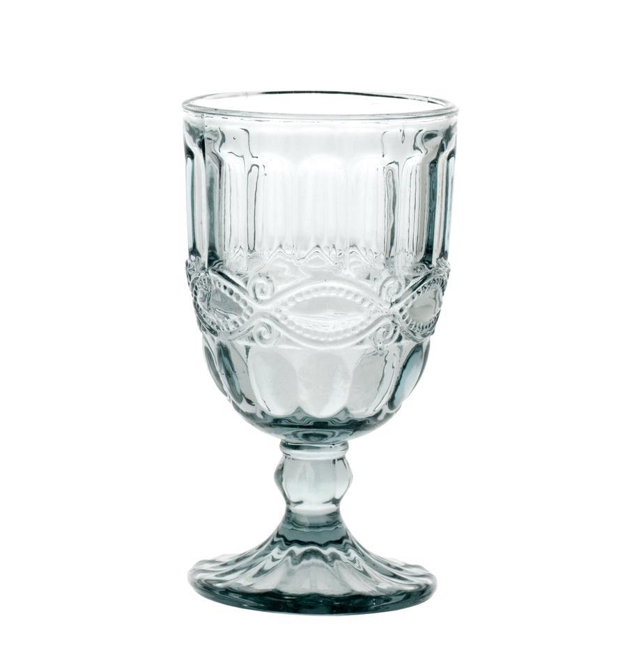Wijnglazen Solange, 6 stuks, Glas, Transparant, 350 ml