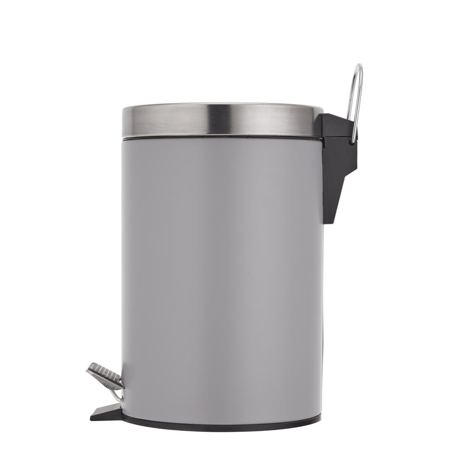 Abfalleimer Ella mit Pedal-Funktion, Grau, Ø 17 x H 26 cm