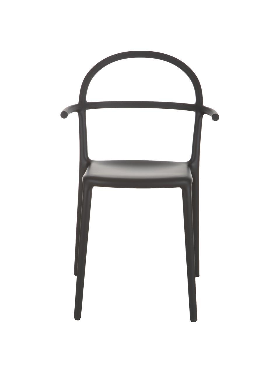 Chaise design noire Generic, 2pièces, Noir