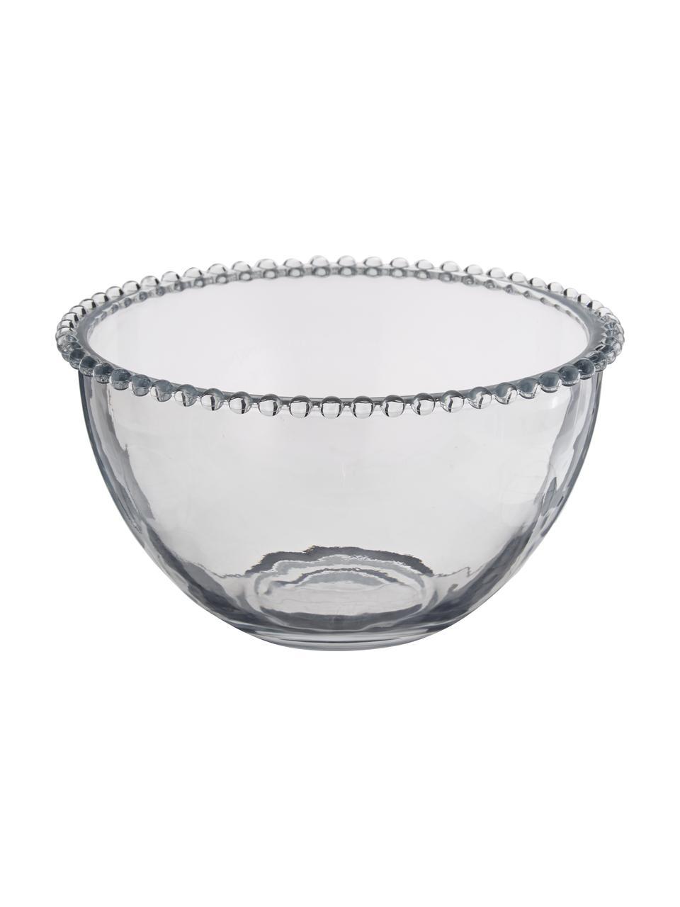 Miska ze szkła Perles, Transparentny, Ø 21 cm