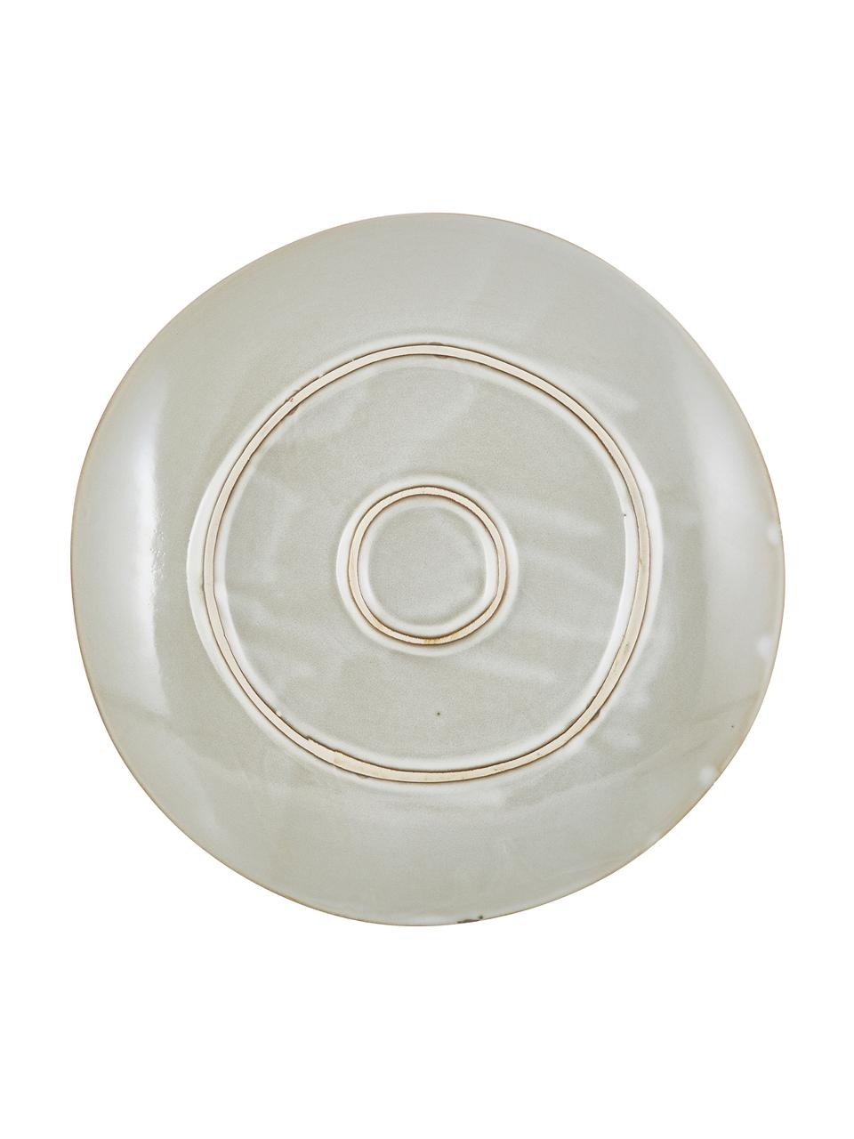 Piatto piano fatto a mano Thalia 2 pz, Terracotta, Beige, Ø 27 cm