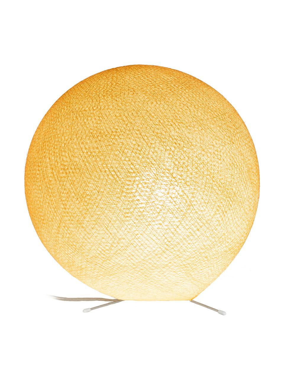 DIY Tischlampe Colorain, Lampenschirm: Polyester, Lampenfuß: Metall, Beige, Ø 36 cm