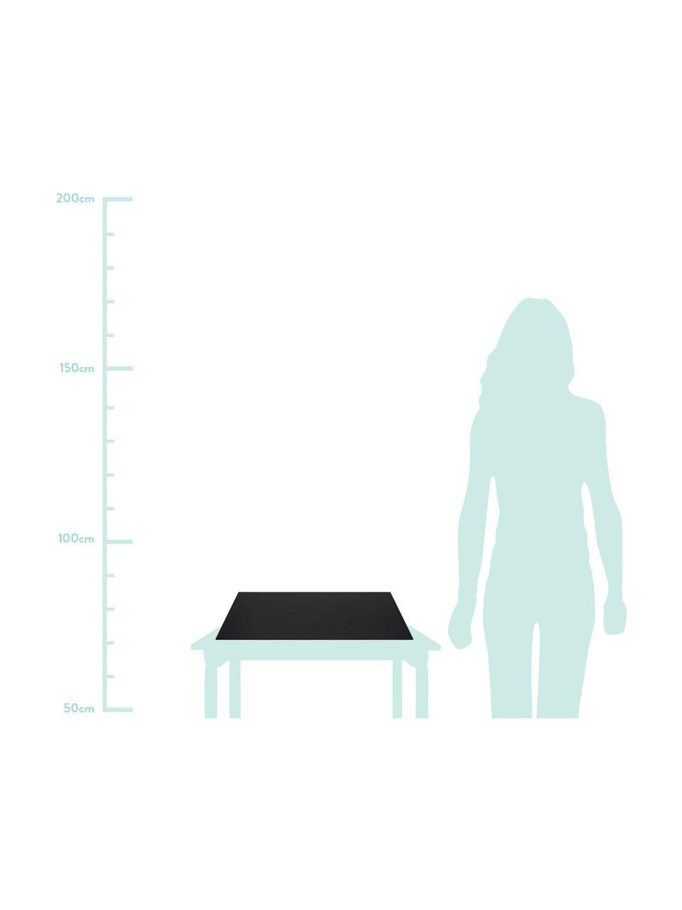 Schreibtischunterlage Annie, Fester, laminierter Karton, Schwarz, B 59 x T 39 cm