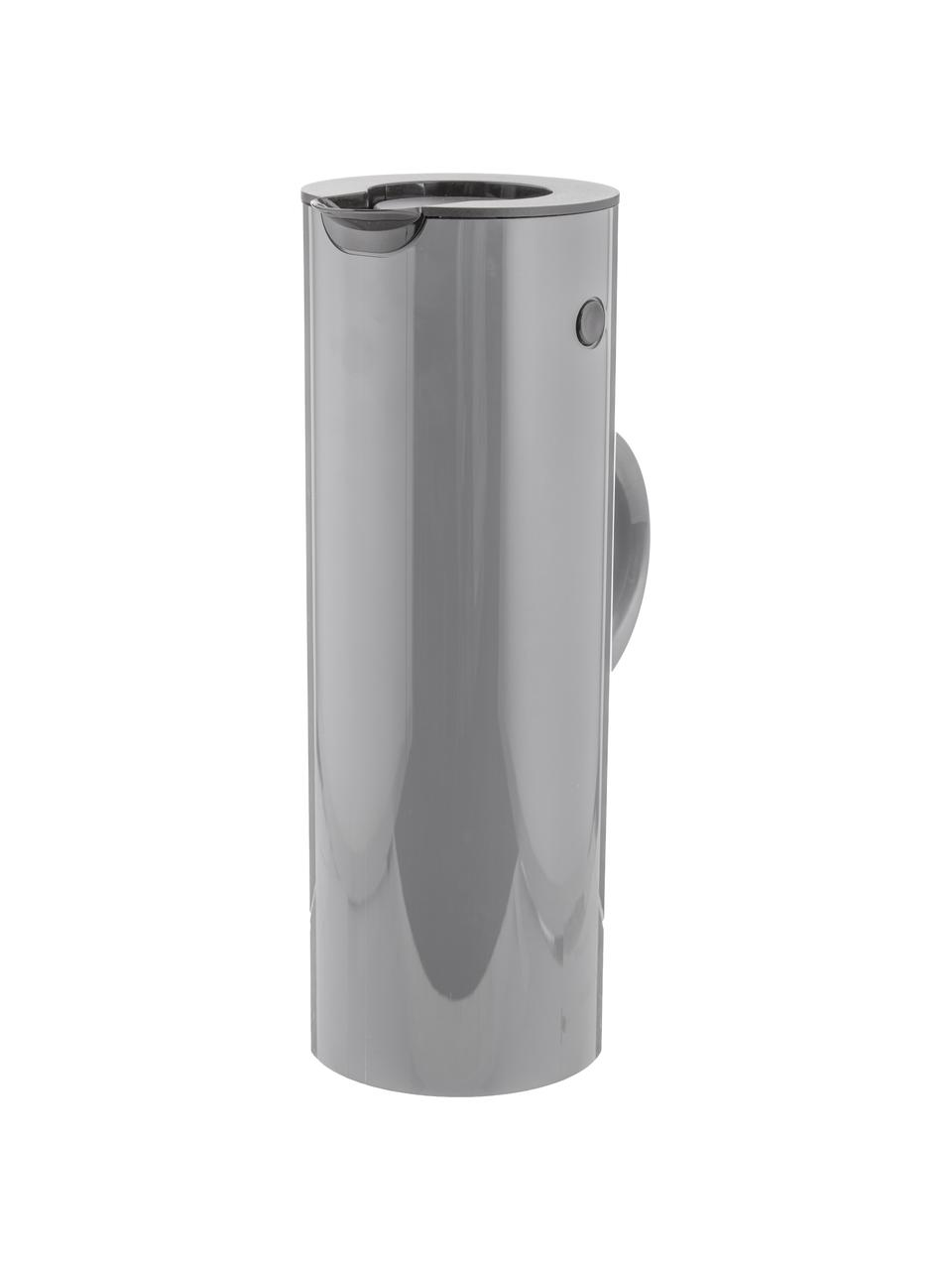 Isolierkanne EM77 in Grau glänzend, 1 L, ABS-Kunststoff, im Inneren mit Glaseinsatz, Granitgrau, 1 L