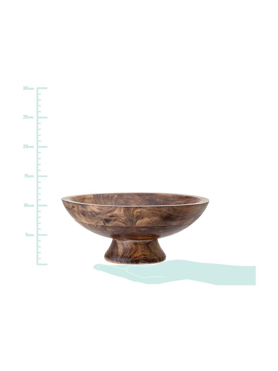 Coupe décorative en bois Helia, Manguier