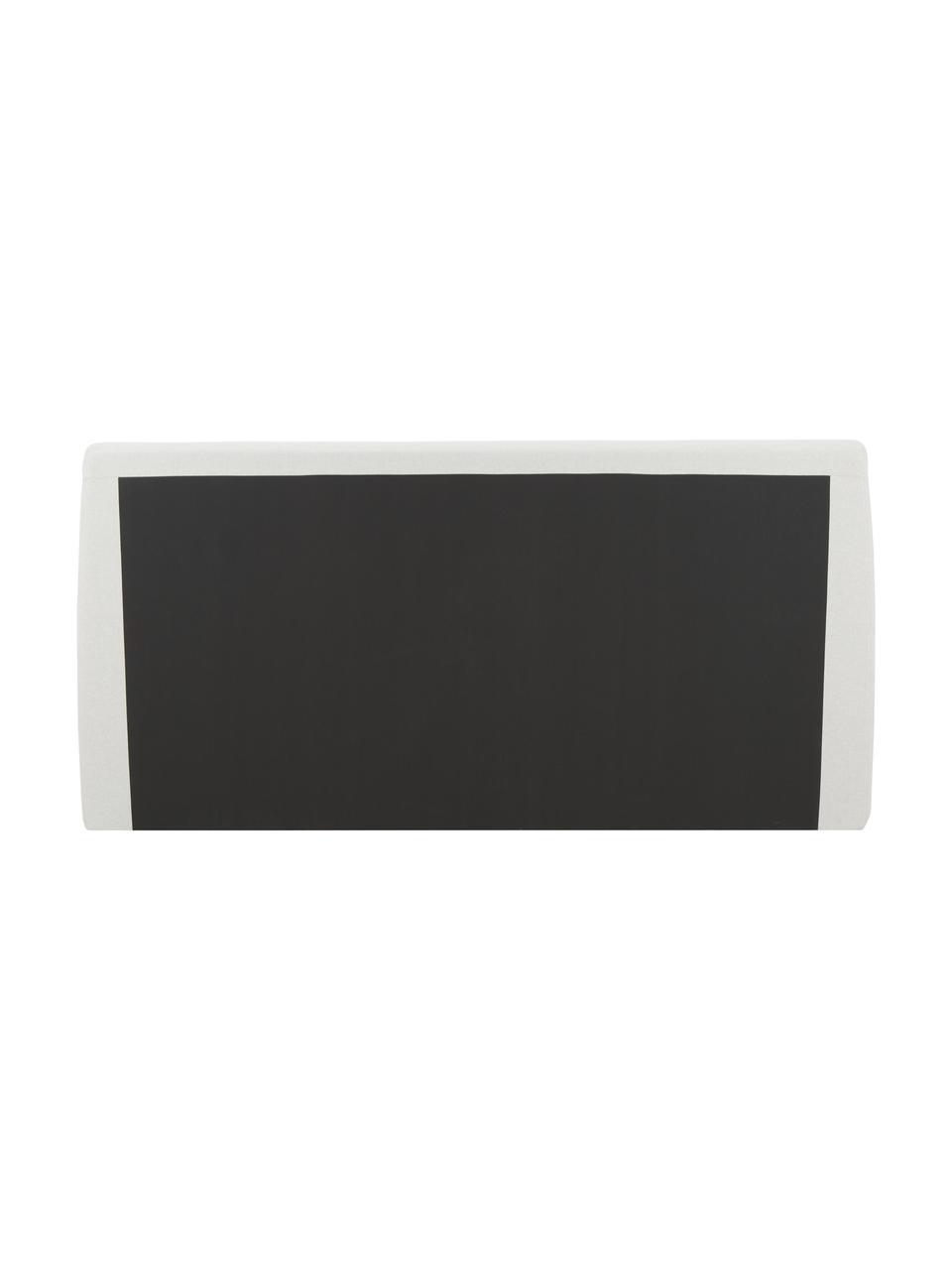 Łóżko tapicerowane ze schowkiem Cloud, Korpus: lite drewno sosnowe i pły, Tapicerka: tkanina o drobnej struktu, Beżowy, S 180 x D 200 cm