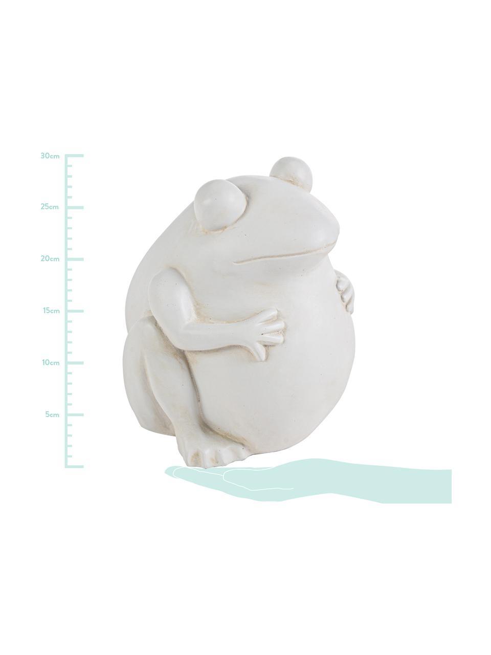Donica Frog, Tworzywo sztuczne, Złamana biel, S 28 x W 30 cm
