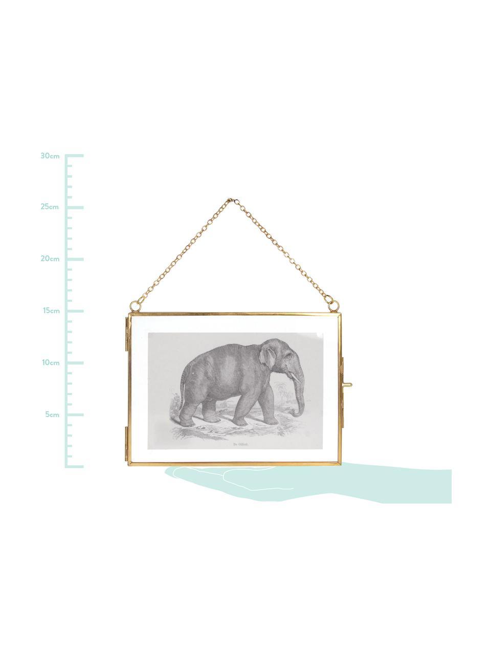 Bilderrahmen Linetti, Front: Glas, Messing, 10 x 15 cm