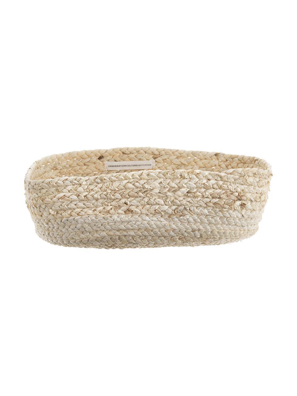 Corbeille à pain artisanale Corinna, 2élém., Beige clair