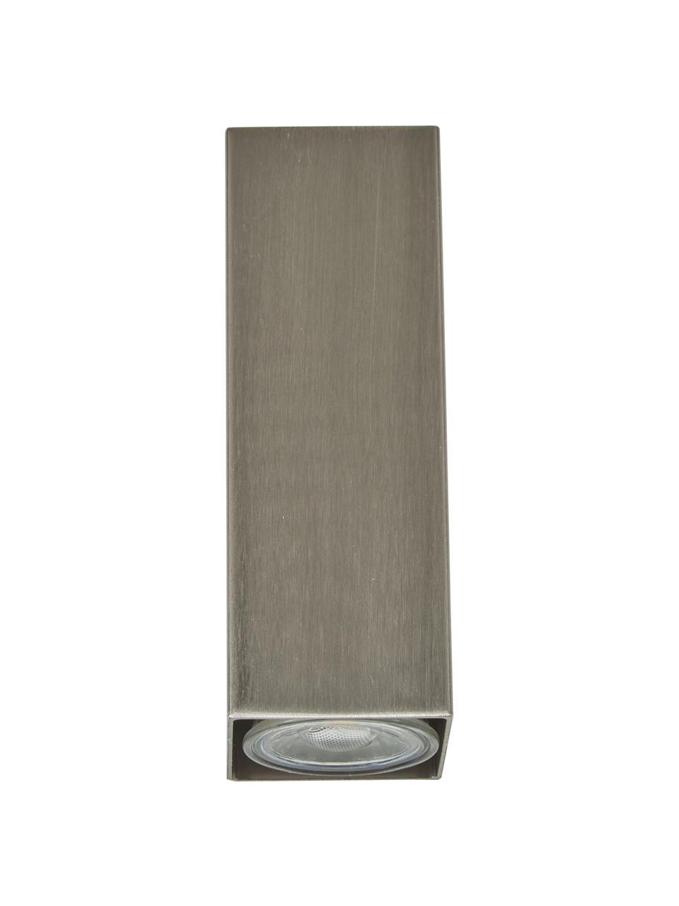 Applique a LED Peter, Paralume: metallo cromato, Cromo, Ø 5 x Alt. 8 cm