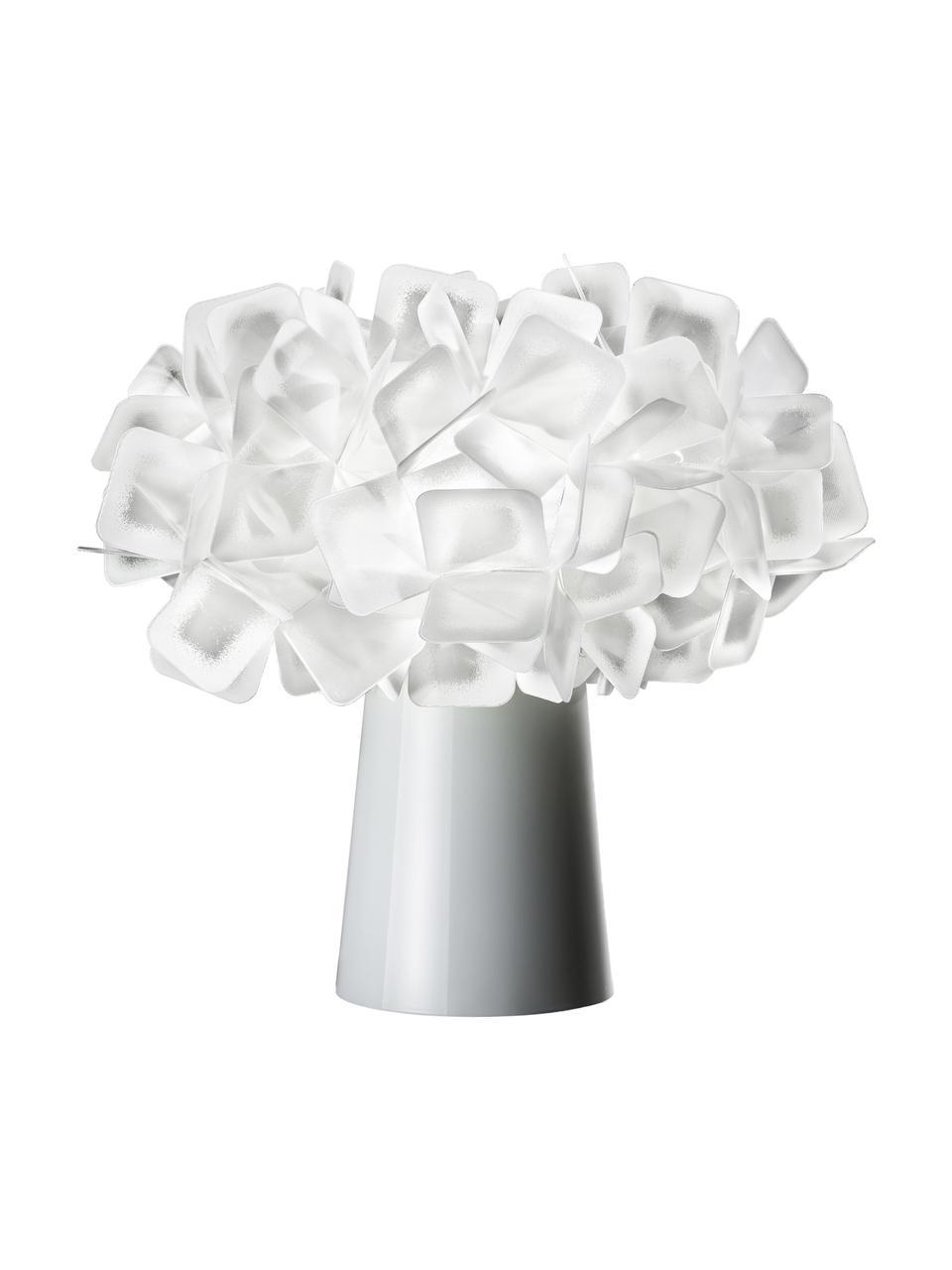 Petite lampe à poser design Clizia, Blanc