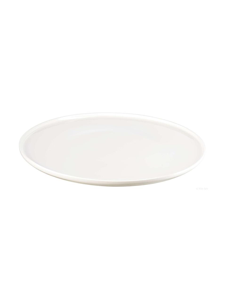 Piatto piano Fine Bone China  Oco 6 pz, Porcellana Fine Bone China, Avorio, Ø 27 cm