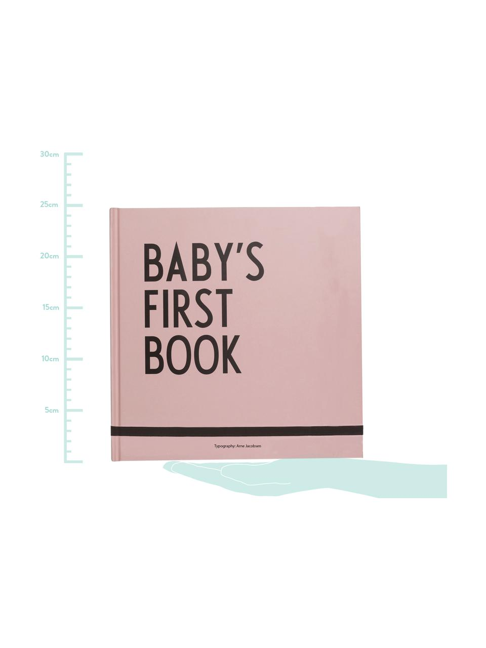 Erinnerungsbuch Baby´s First Book, Papier, Rosa, 25 x 25 cm