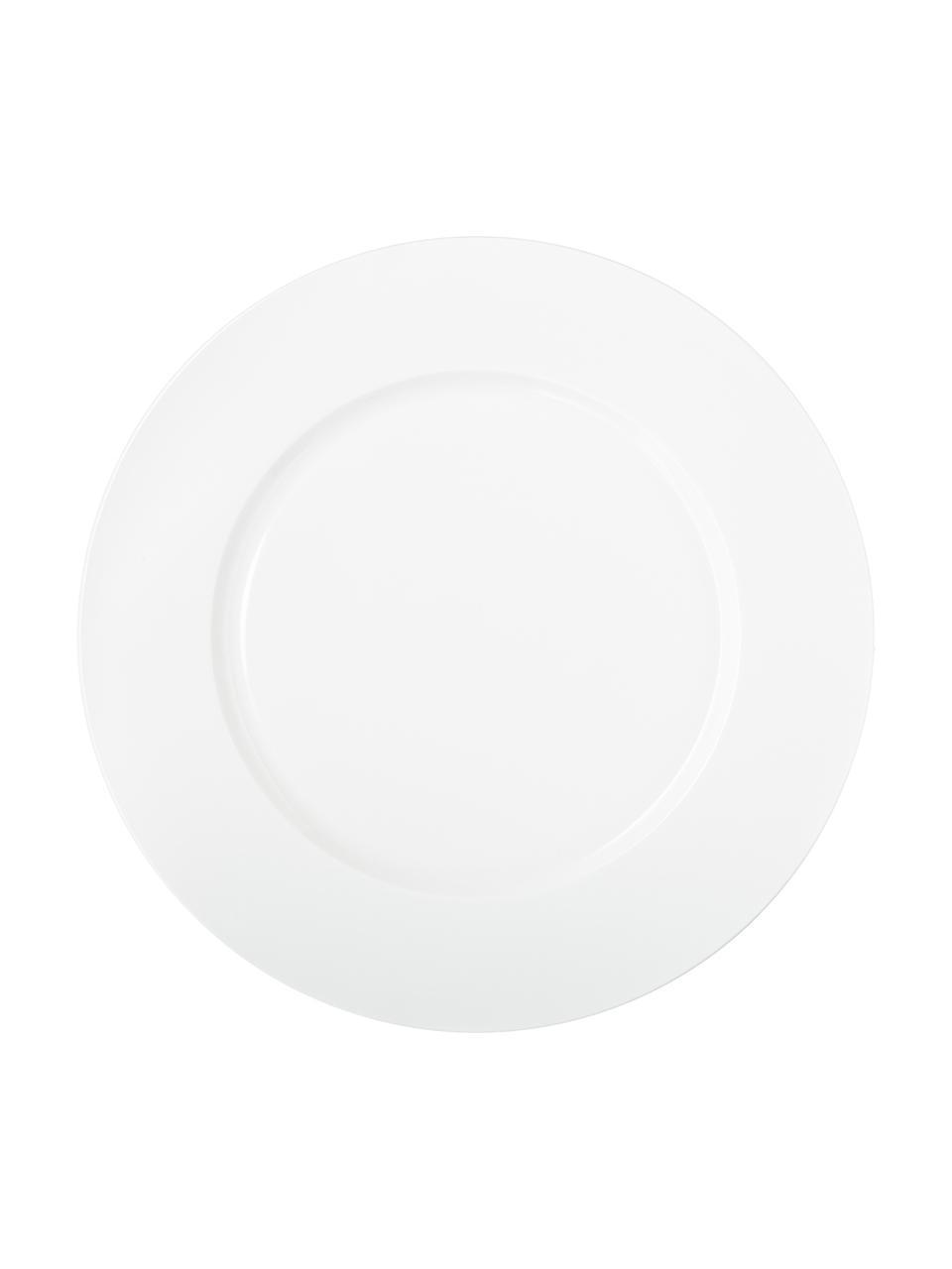 Sottopiatto Fine Bone China à Table, Fine Bone China (porcellana) Fine bone china è una porcellana a pasta morbida particolarmente caratterizzata dalla sua lucentezza radiosa e traslucida, Bianco, Ø 32 cm