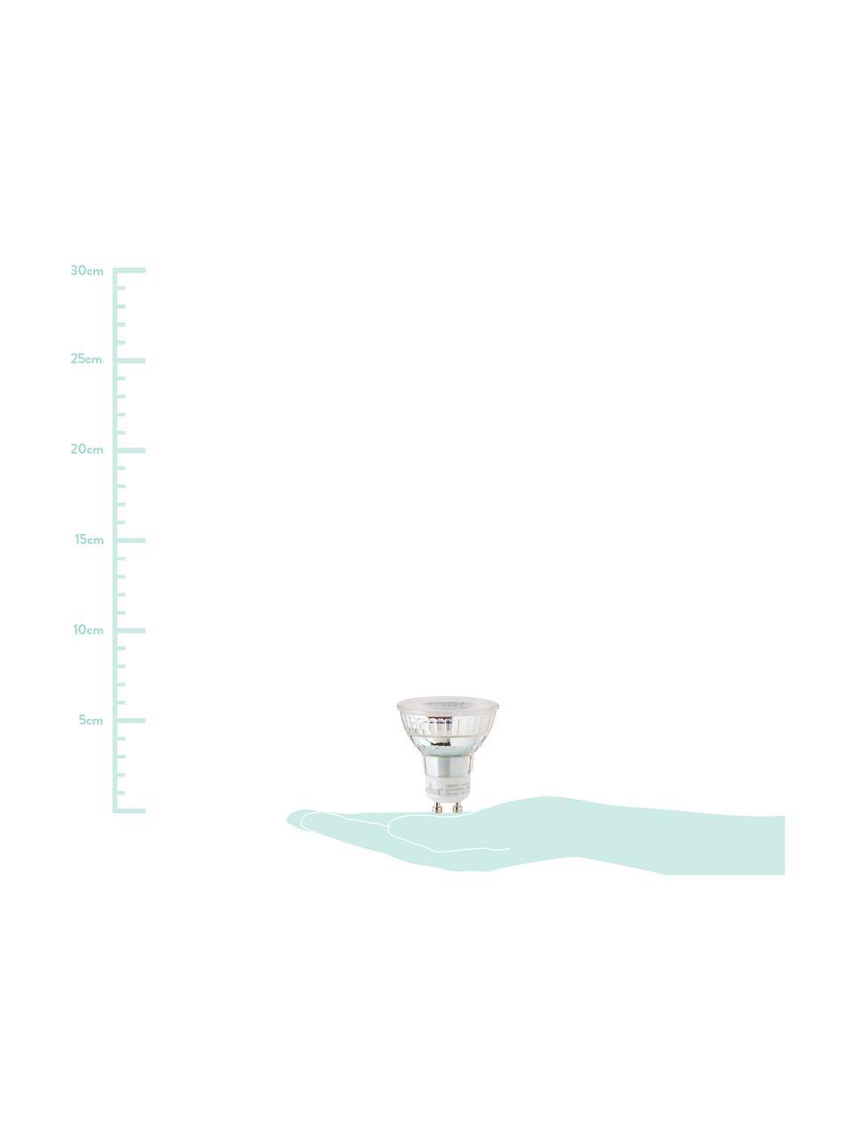 Ampoule LED GU10 blanc chaud, 4W, 1 pièce, Transparent
