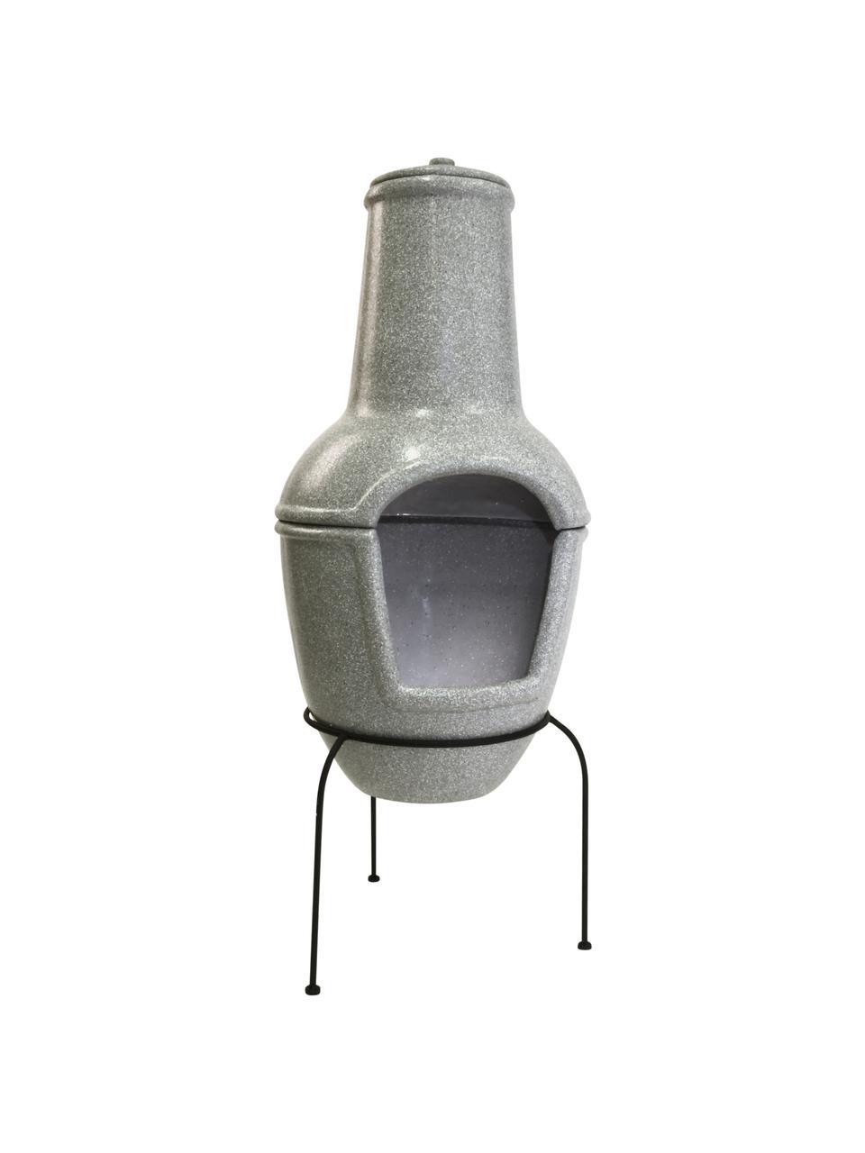 Stufa da patio Cozy, Struttura: metallo rivestito, Grigio, Ø 44 x Alt. 112 cm
