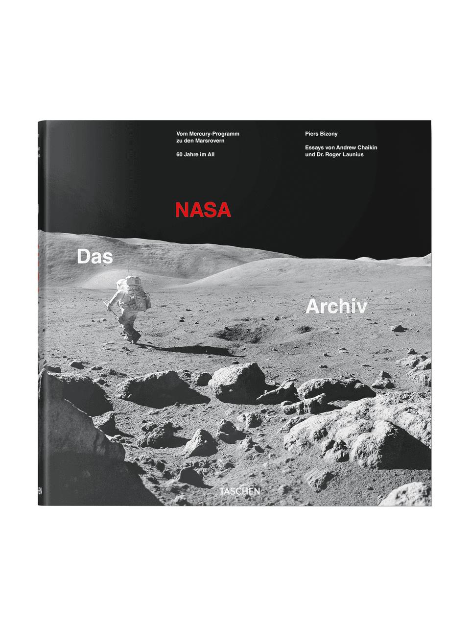 Libro illustrato The NASA Archives: 60 Years In Space, Copertina rigida, carta, Multicolore, Lung. 33 x Larg. 33 cm