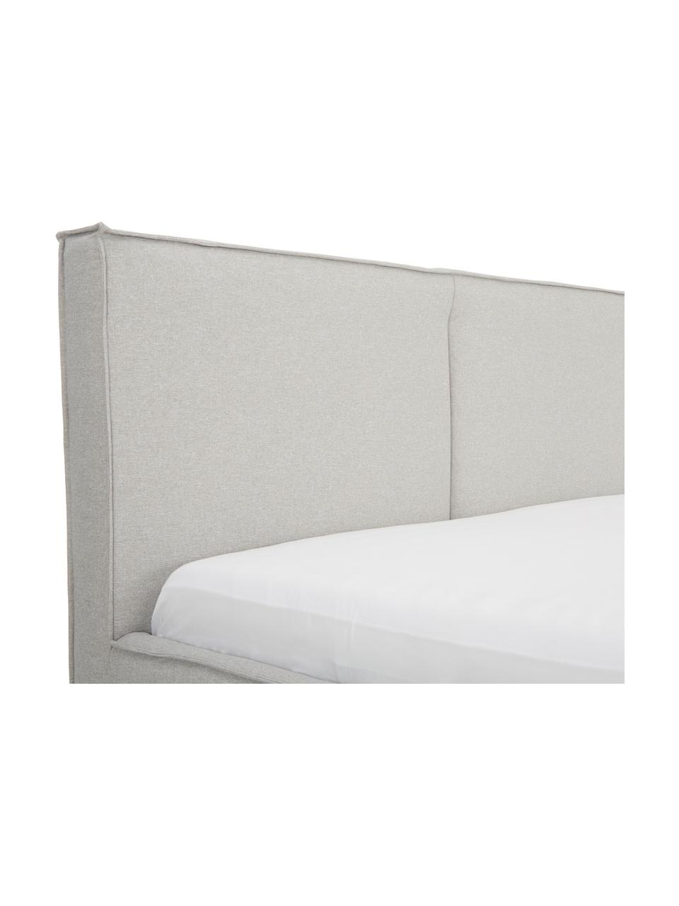 Gestoffeerd bed Dream met opbergruimte, Frame: massief grenenhout, Bekleding: polyester (structuurmater, Mauve, Verschillende formaten