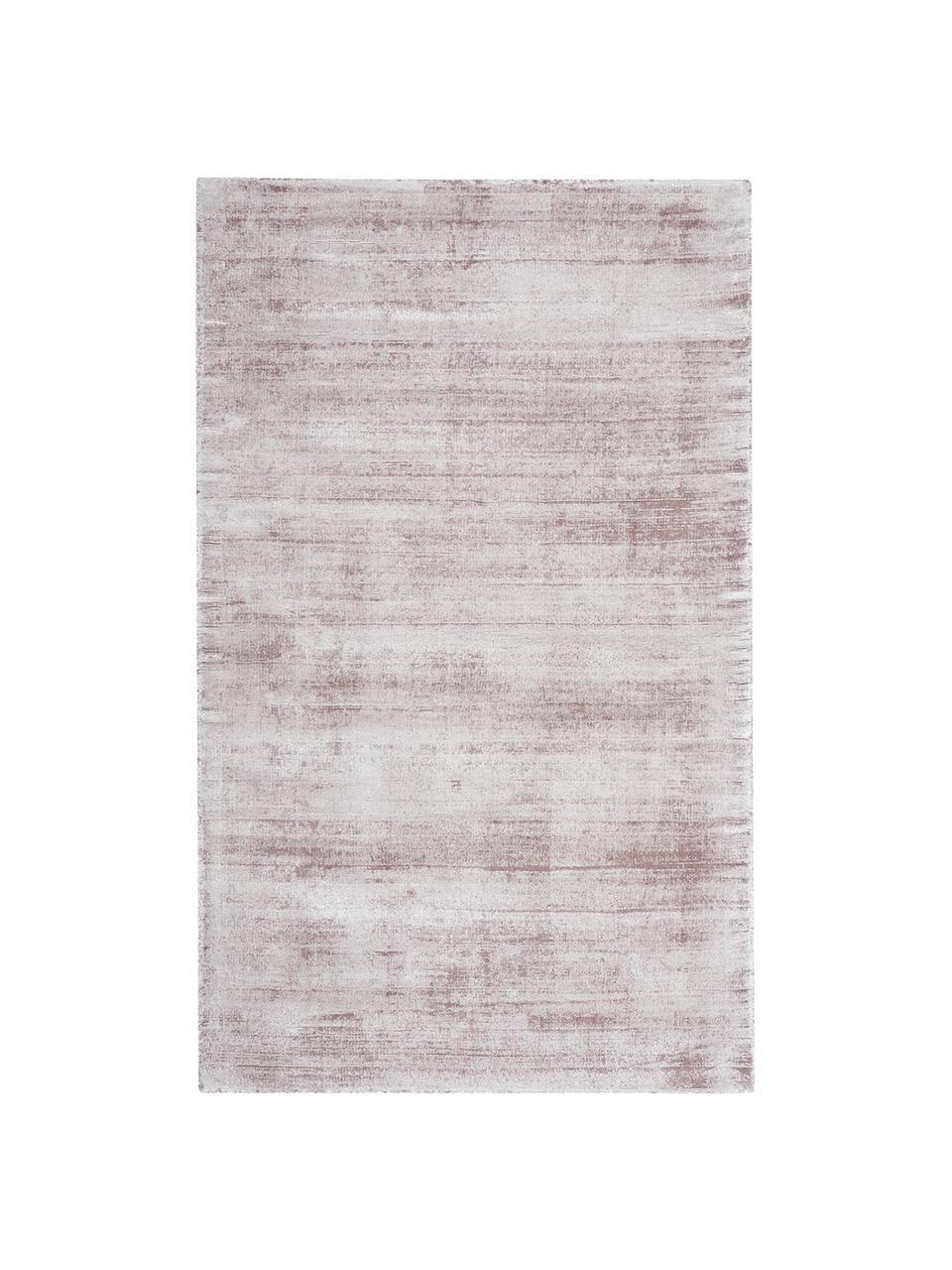 Ręcznie tkany dywan z wiskozy Jane, Liliowy, S 200 x D 300 cm (Rozmiar L)