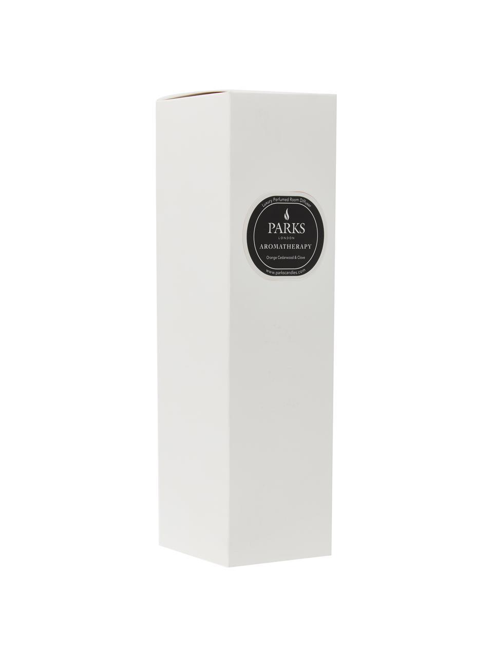 Diffuser Aromatherapy (Orange, Zedernholz & Nelke), Verschluss: Holz, Schwarz, Weiß, Ø 6 x H 14 cm