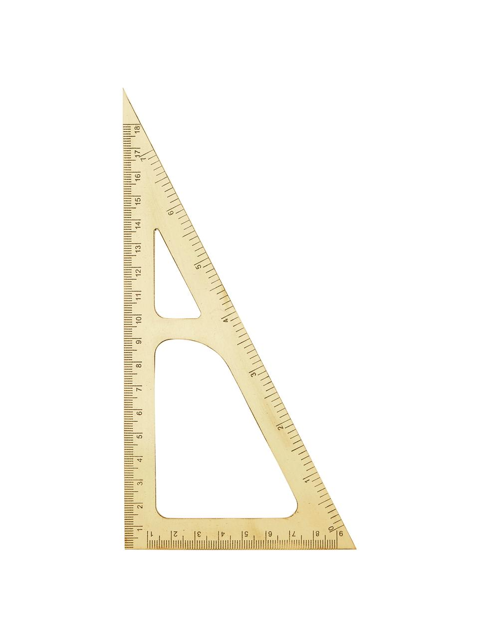 Righello dorato Ruler, Ottone, Ottone, Lung. 19 cm