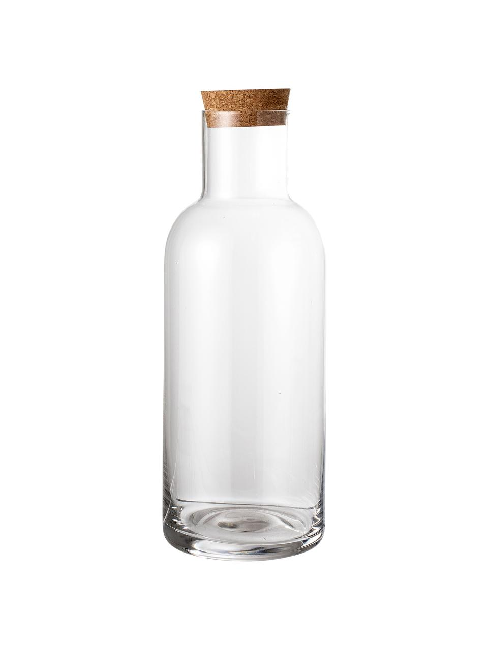 Karaffe Clearance in Transparent, 1 L, Deckel: Kork, Transparent, 1 L