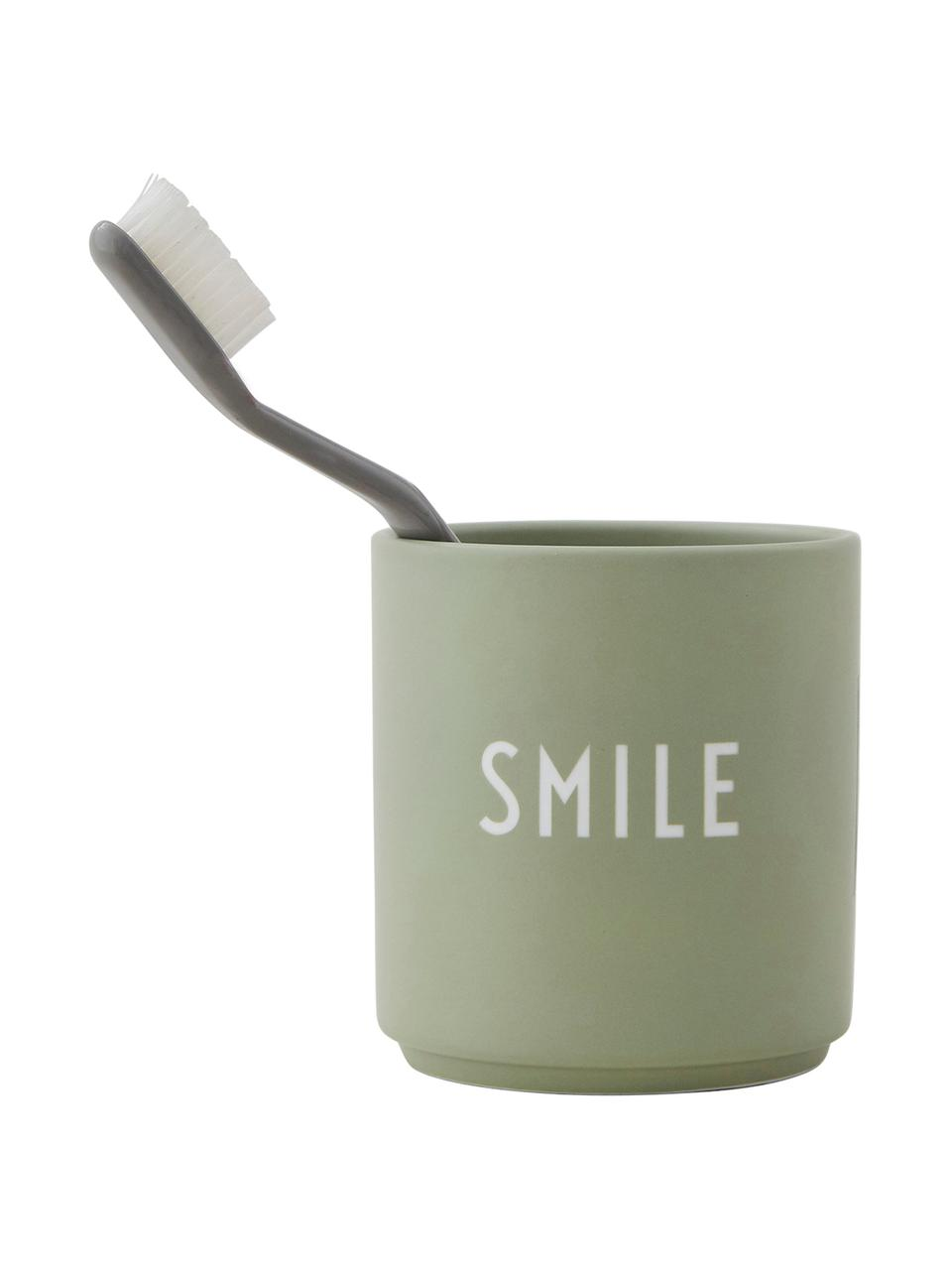Mug Favourite SMILE, Vert, blanc