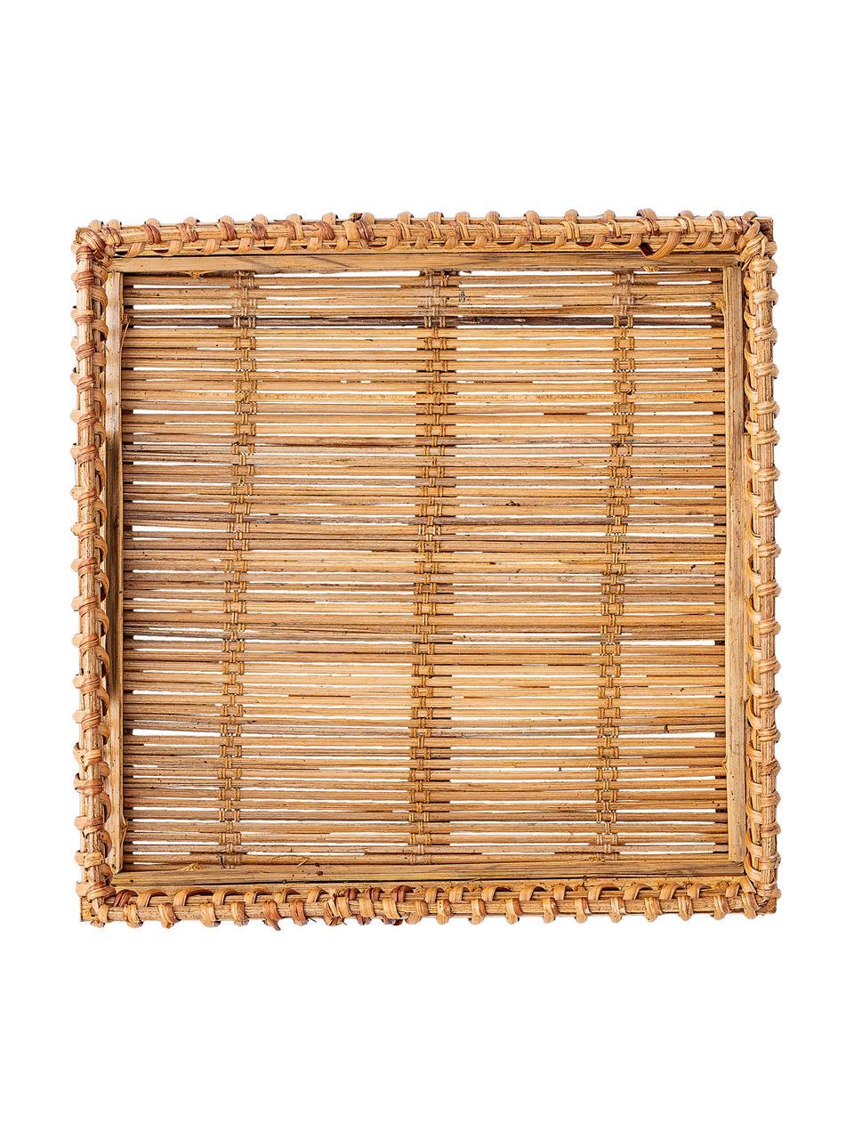 Bamboe servettenhouder Lamgo, Bamboehout, Bamboehoutkleurig, B 18 x D 18 cm