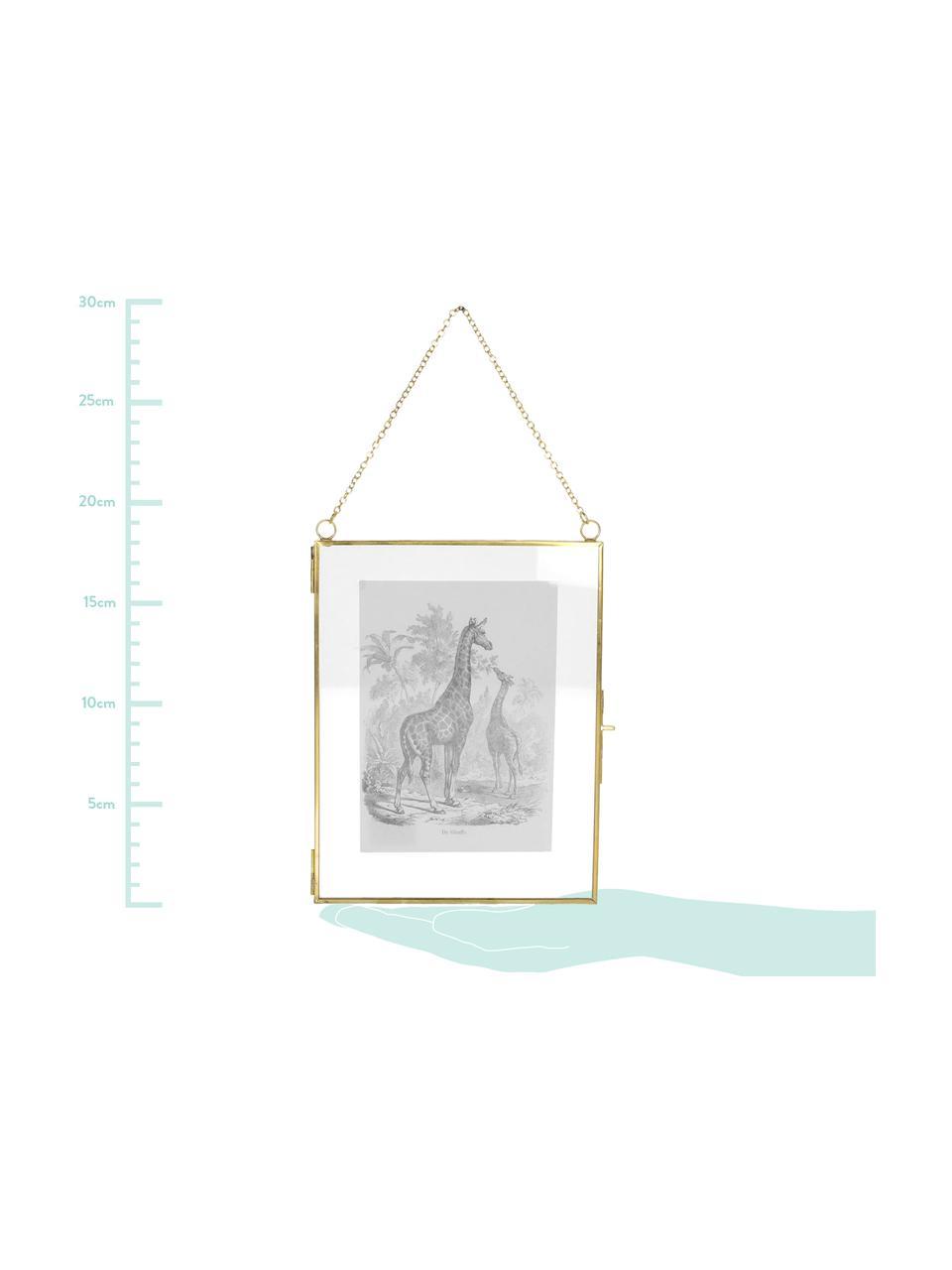 Bilderrahmen Linetti, Front: Glas, Messing, 13 x 18 cm