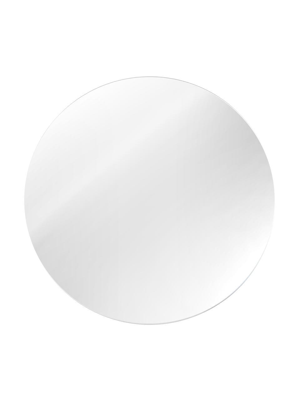 Lustro ścienne bez ramy Erin, Lustro: szkło lustrzane Zewnętrzna krawędź lustra: czarny, Ø 40 cm