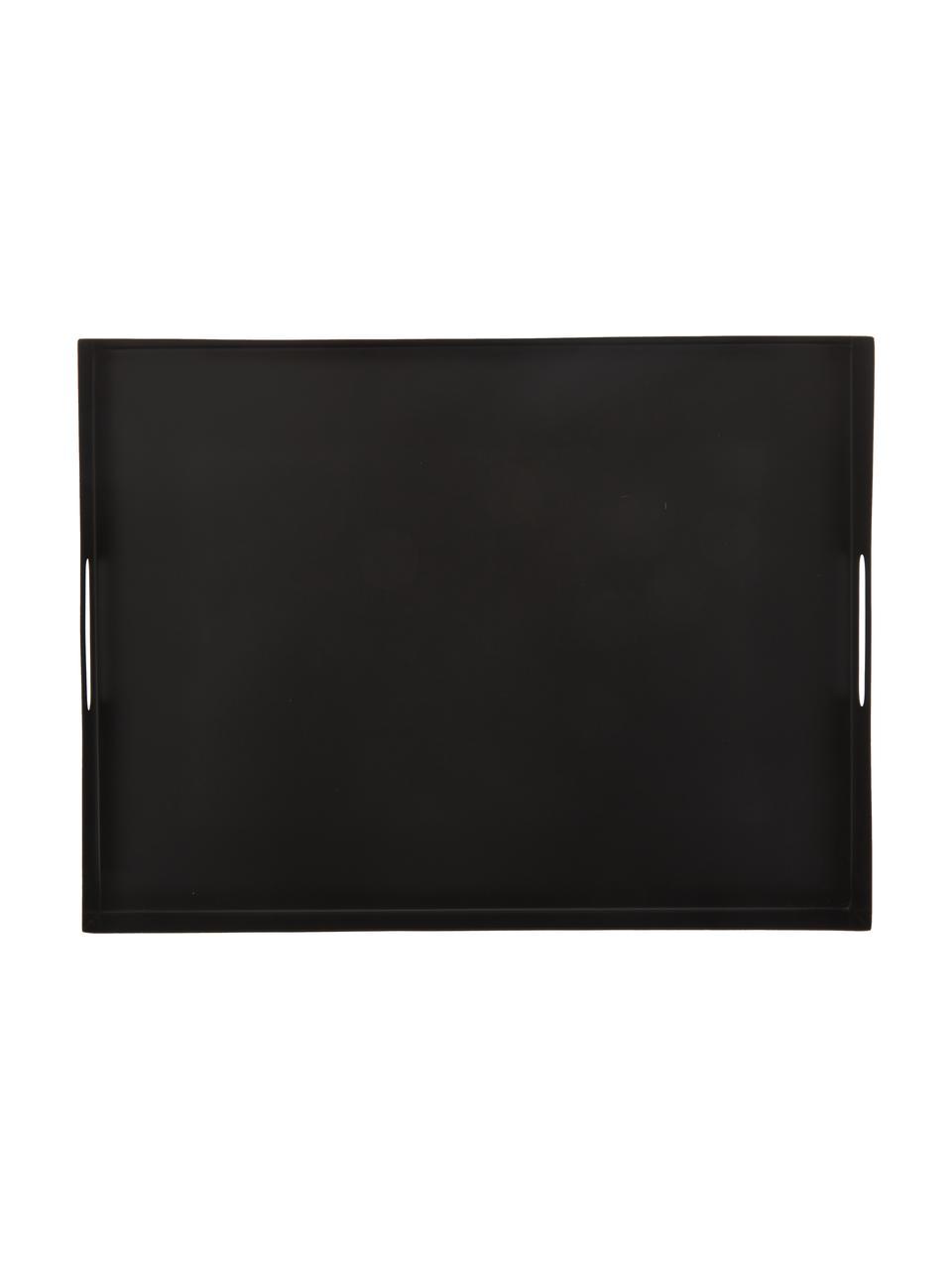 Plateau noir Satu, larg. 30 x long. 40cm, Noir