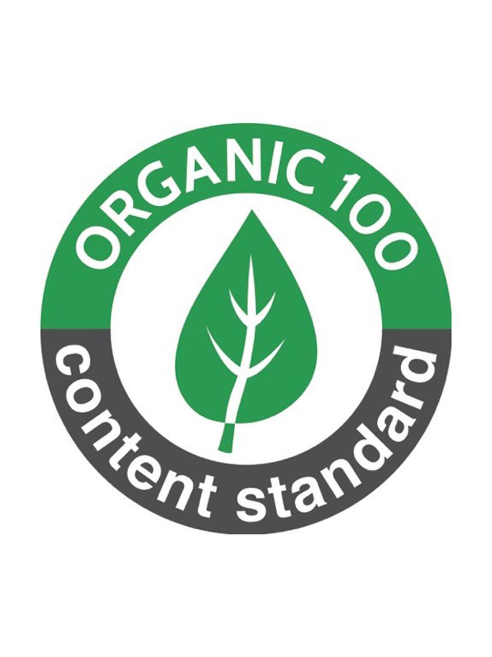 U-Heft-Hülle Pressed Leaves aus Bio-Baumwolle, 100% Biobaumwolle, OCS-zertifiziert, Rosa, Mehrfarbig, 15 x 21 cm