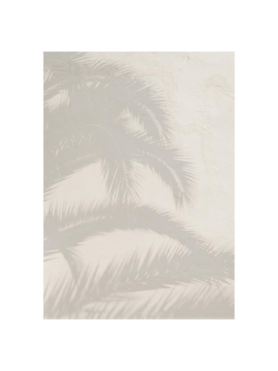 Carta da parati  Shadow, Tessuto non tessuto, Grigio chiaro, beige, Larg. 200 x Alt. 280 cm