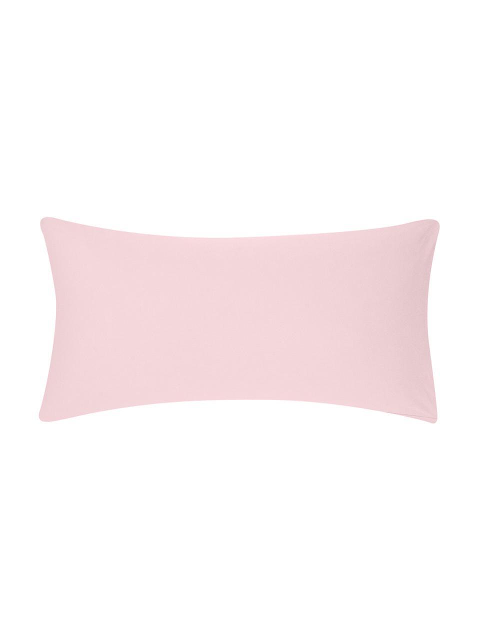 Flanell-Kissenbezüge Biba in Rosa, 2 Stück, Webart: Flanell Flanell ist ein k, Rosa, 40 x 80 cm