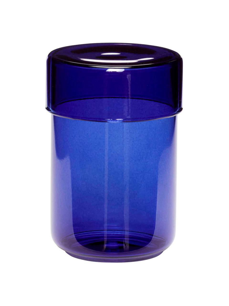 Boîte en verre bleu Transisto, 2élém., Bleu