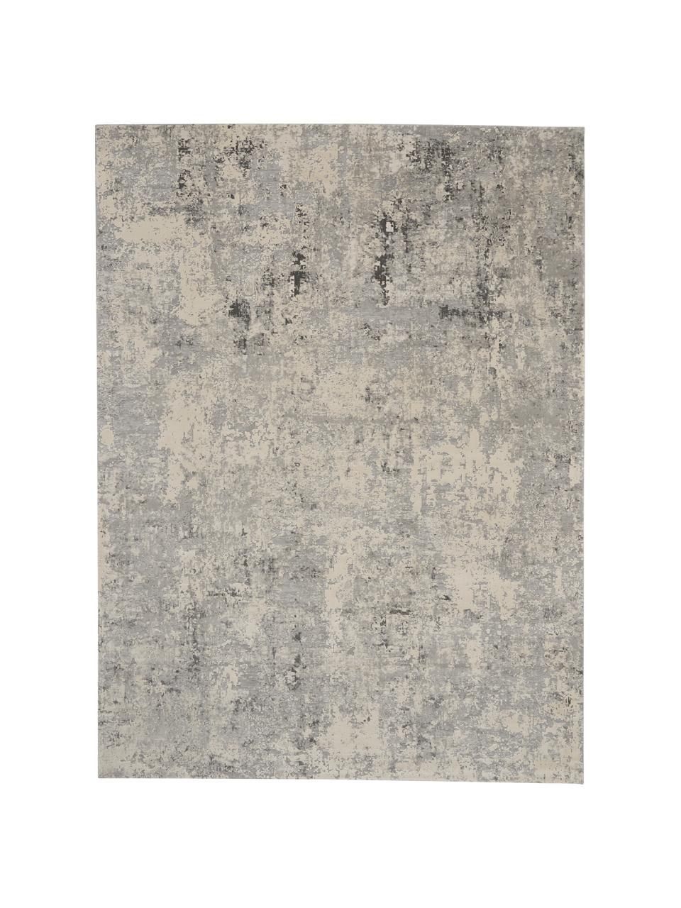 Dywan z wypukłą strukturą Rustic, Szary, beżowy, S 240 x D 320 cm (Rozmiar L)