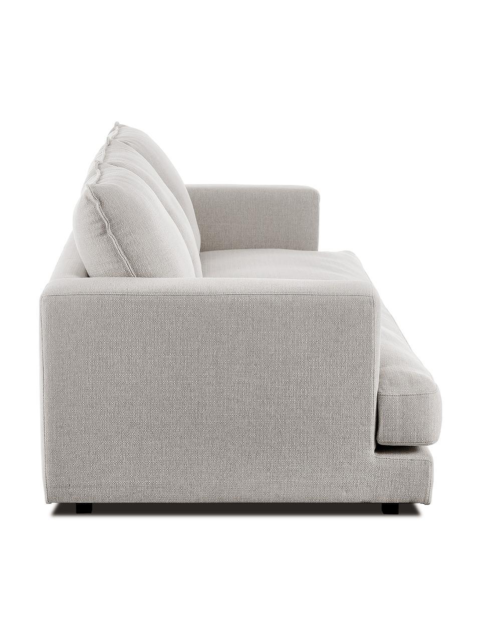 Canapé 3 places beige gris Tribeca, Tissu gris-beige