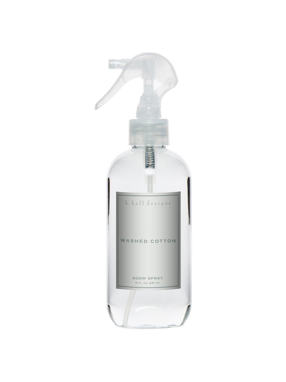 Spray do powietrza Washed Cotton (lawenda i rumianek), Transparentny, Ø 5 x W 24 cm