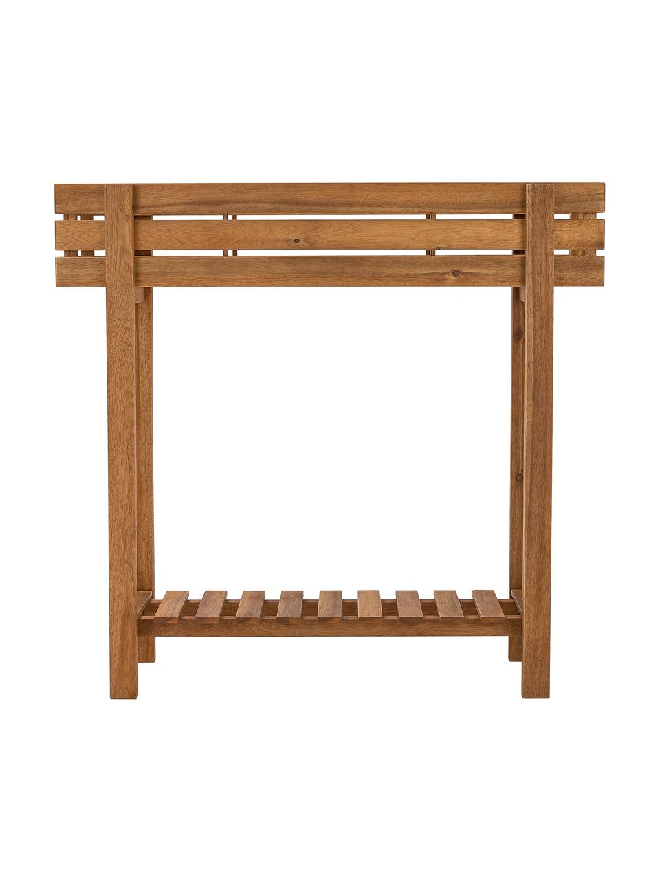 Holz-Pflanzkasten New Gardening, Akazienholz, geölt, Akazienholz, 90 x 85 cm