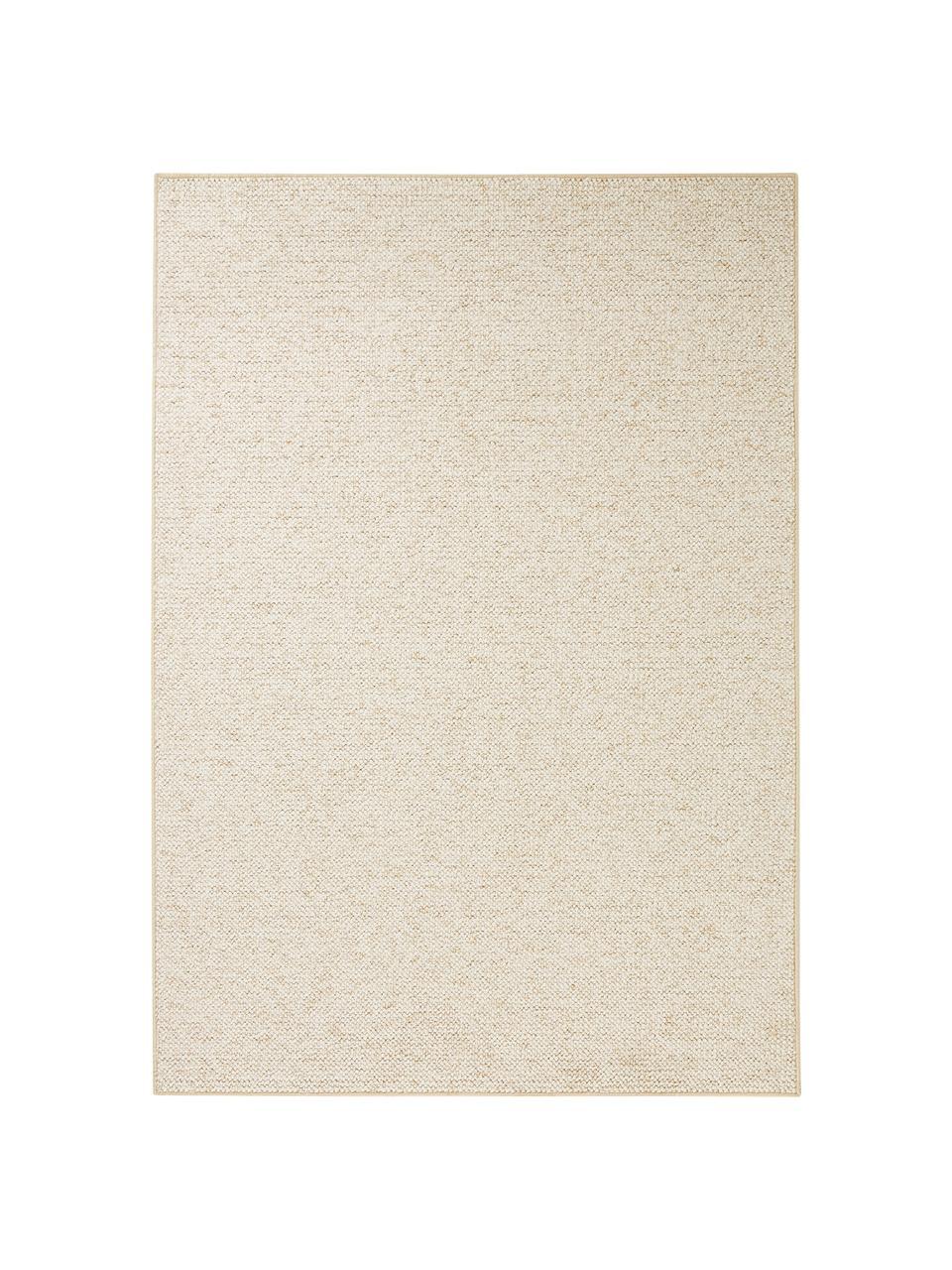 Teppich Lyon mit Schlingen-Flor, Flor: 100% Polypropylen Rücken, Creme, melangiert, B 160 x L 240 cm (Größe M)